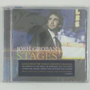 JOSH-GROBAN-Stages-CD-2015-POP-MUSICALS-SEALED-UNPLAYED