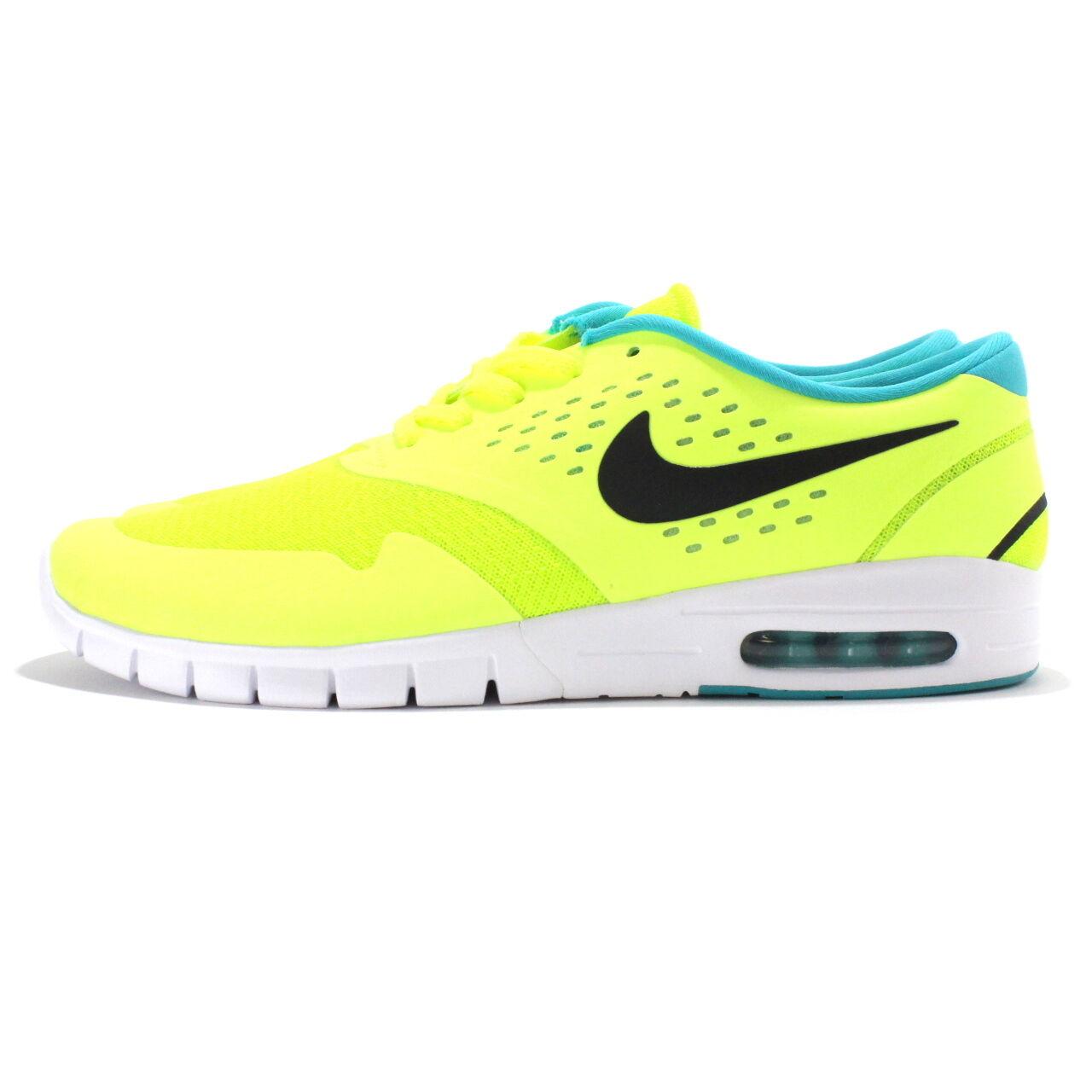 Nike eric koston 2 max sb sz 12 volt nero dusty cactus 631047 703