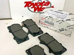 Genuine Toyota 2005-2015 Tacoma Front Brake Pad Kit OEM 04465-04070