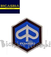 3453 SCUDETTO ESAGONALE PICCOLO COPRISTERZO VESPA 180 200 RALLY 150 SPRINT VELOC