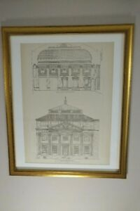 The-Bowery-Savings-Bank-New-York-City-1895-Framed-Architecture-Lithograph