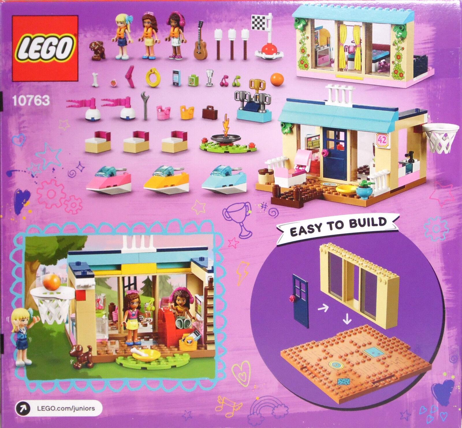 LEGO 4Juniors Friends Friends Friends 10763 Stephanies Haus am See Andrea Olivia Lagerfeuer NEU bab781