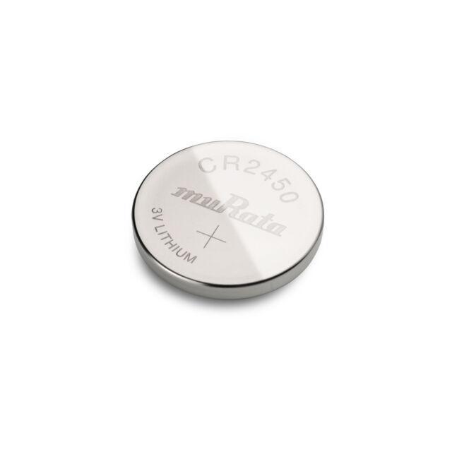 1x Knopfzelle muRata (vorm. SONY) CR2450 Lithium 3V 1 Stück