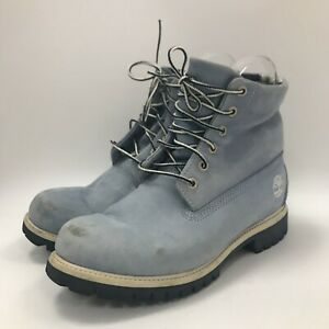 Light Blue Lace Up Leather Women 311588