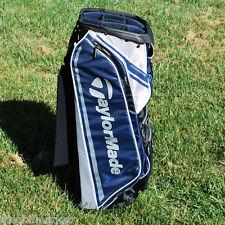 TaylorMade 2015 San Clemente Cart Golf Bag 10-Way Top Blue&Black&Gray - NEW
