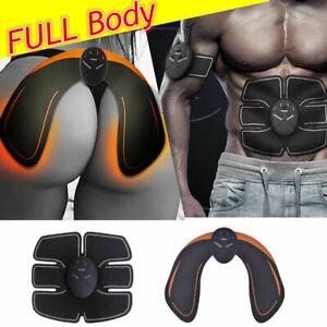 Electric-Muscle-Toner-Abs-Fat-Burner-Kit-Wireless-Toning-Belt-Simulation-Machine