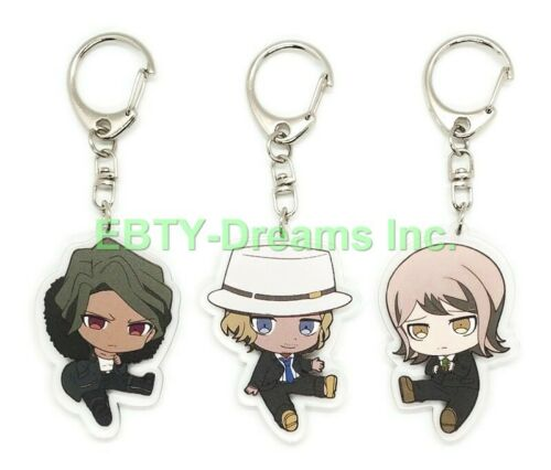 Set of 3 Danganronpa Anime Acrylic Keychain Koichi Kizakura Juzo Ryota Mitarai