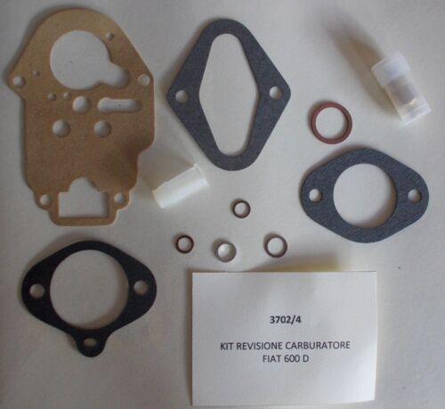 Kit revisione carburatore Fiat 600 D 1966/> 28ICP