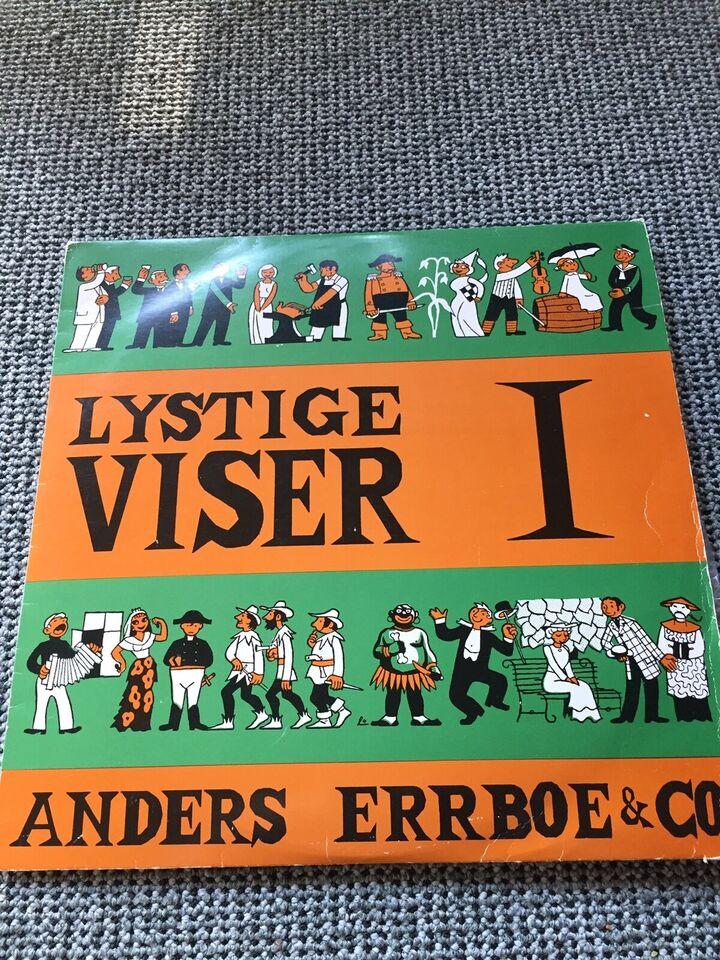 LP, Anders Errboe og co., Lystige viser 1