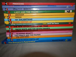 17-hardcover-disney-wonderful-world-of-reading-kids-picture-books-readers-lot