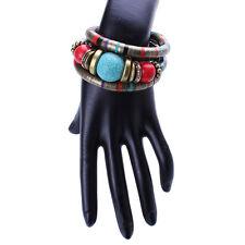 New Women 3 Layer Retro Bohomia Bangal Bollywood Fastion Indian Jewelry Bracelet