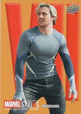 Marvel Ten 10 Years Roman Numerals Chase Card RN34 Hawkeye