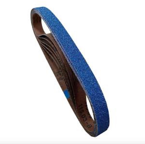 Powertec 2x42 in 120 Grit Metal Grinding Zirconia Sanding Sandpaper Belt 6 Pack