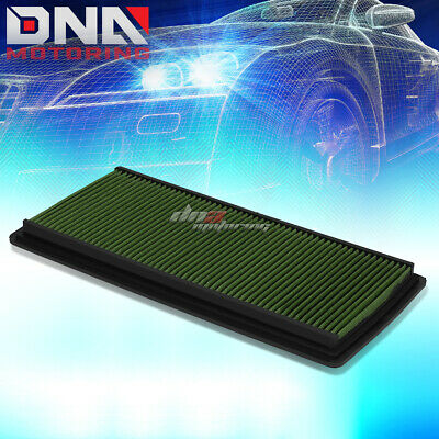 FOR 98-02 CHEVY CAMARO V6//V8 RED REUSABLE/&WASHABLE HIGH FLOW PANEL AIR FILTER