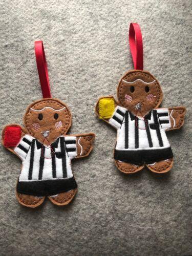 Handmade  Christmas Birthday Hanging Decoration referee