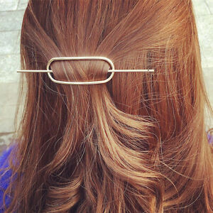 Women Hair Accessories Simple Designe Geometric Hair Pin ...