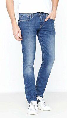 PEPE JEANS Hatch Men/'s Slim Fit Straight Leg New One Wash Waist Sizes 30-38