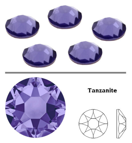 Original SWAROVSKI 2078 Hotfix Strass Steine zum Aufbügeln Kristall* viel Farben