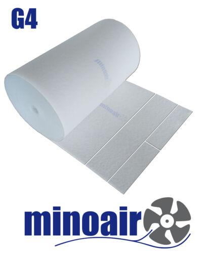 Filtermatte Vorfilter,Staubfilter G4 500mm x 500mm x ca.20mm weiß Mattenfilter