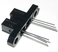 Sharp Slotted Optical Switch With Bracket - Photointerrupter 1a50hr - 3 Mm Gap