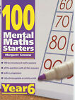 100 Mental Maths Starters Year 6: Year 6 by Margaret Gronow (Paperback, 2002)