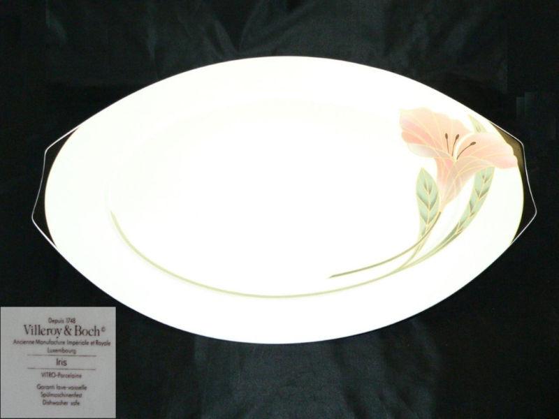 Villeroy & Boch Iris Servierplatte ca. 42,5 cm | Starke Hitze- und Abnutzungsbeständigkeit