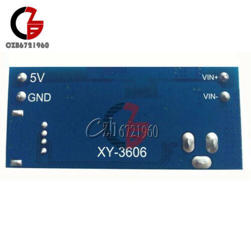 Corriente continua XL4015-corriente directa 12V//24V a 5 V Convertidor 5 A//4-USB portbuck Fuente De Alimentación Step Down