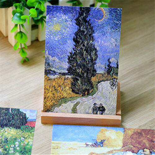 30pcs//Set Vintage Poster Van Gogh Famous Painting Postcard Wall Decoration Cards