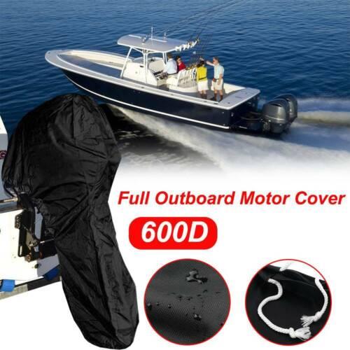 6-225HP Boot Motor Abdeckung Außenborder Schutzhülle Persenning 600D Wasserdicht
