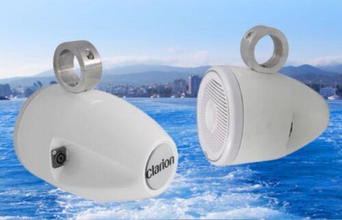 Clarion wte7w altavoces carcasa para Marine-altavoces fibra de vidrio era PVP 699