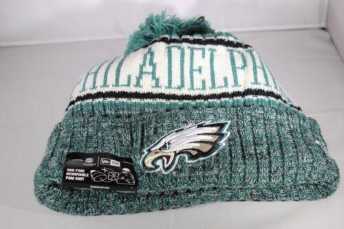 New Era Onfield NFL18 Philadelphia Eagles Bobble Ski Hat Multi Colour BNWT