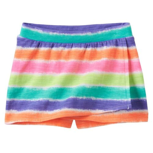 Jumping Beans 3 6 9 12 18 months Multi Colored Striped Skort New