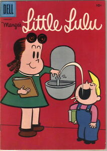 Details About Marge S Little Lulu Comic Book 116 Dell Comics 1958 Fine