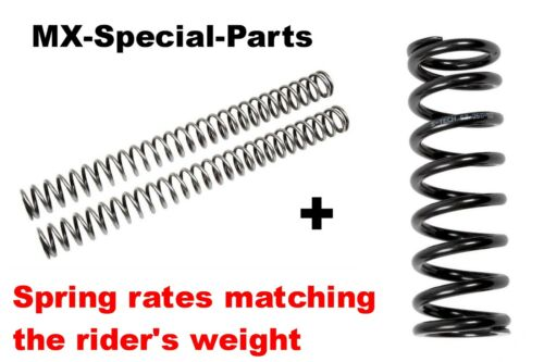 Shock Spring with matching Spring rate /& gtselect KTM SX 250 sx250 # Fork Springs