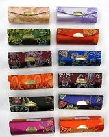 Wholesale 12 Pcs Lipstick Cases Lipstick Holder Case W/mirror Chinese Embroidery