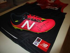 Melbourne-Nathan-Jones-signed-New-Balance-football-boot-Right-Inc-COA