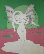 L'adrouide : Lithographie de Felix LABISSE