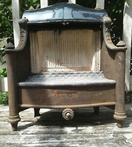 Antique Vintage Humphrey Radiant Fire No 20 Fireplace