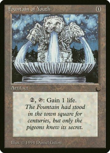 1x Fountain of Youth The Dark MTG Magic MP
