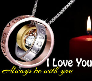 romantic women gifts for her silver ring i love you christmas presents wife sis ebay