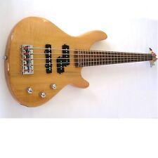 Kona Guitars KE5BN 5-String Electric Bass Guitar with Split Pickup Configuration
