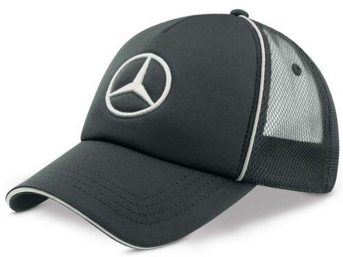Original Mercedes Benz Trucker Base Cap Casquette bonne nuit de 1 logo réseau Messieurs Anthracite