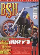 BSH THE EUROPEAN CUSTOM BIKE MAGAZINE - March 2000
