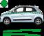Renault-Twingo-Bandes-Zebres-Stickers-adhesifs-decoration-couleur-au-choix miniature 12