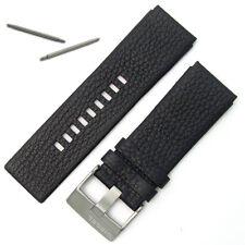 Diesel Original genuino reloj correa hebilla de acero de Cuero Real S/para DZ1149