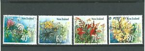 World-Stamps-NEW-ZEALAND-1989-Flowers-issue-Lot-3132