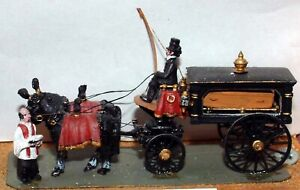 Victoria-horse-drawn-Hearse-Funeral-Carriage-G18-UNPAINTED-OO-Scale-Models-Kit