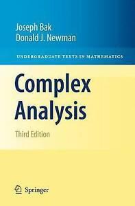 Complex-Analysis-by-Donald-J-Newman-Joseph-Bak-Hardback-2010