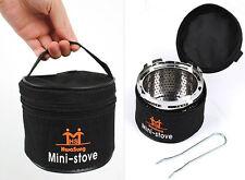 Mini Portable Stove Heaters Cap for Butane Gas Camping Burner Outdoor Korea