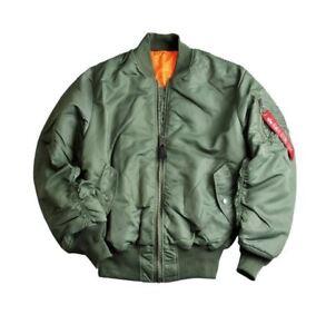 De 100101 Army 1 Ma Pilote Neuf Vert Alpha Industries Tennessee Sage Veste X011q
